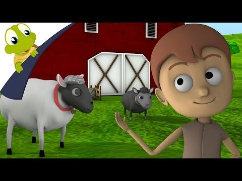 Baa baa black sheep 3D Nursery Rhyme - YouTube