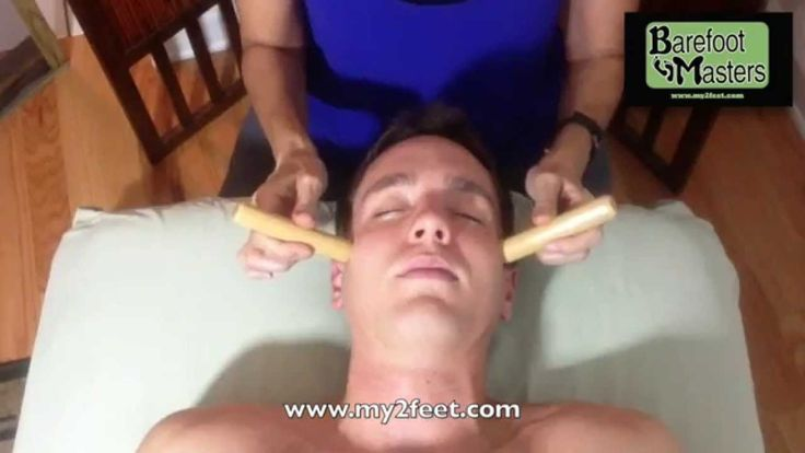 How To Do a Warm Bamboo Massage Facial Part 6 Ce's for LMT's