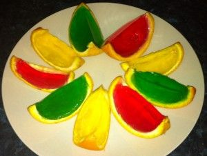 Orange Jelly Slices – Kids Party Food