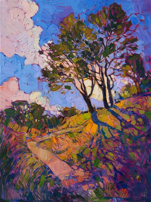 Crystal Light series original oil painting by Erin Hanson