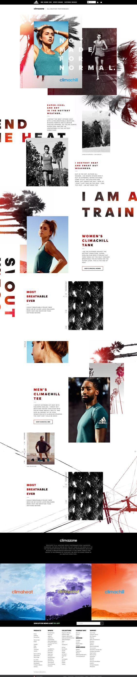 Adidas Web Design | Fivestar Branding – Design and Branding Agency & Inspiration Gallery