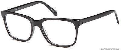 Mens Glasses Frames Rxable Optical Frame in Large Wayfare Style Black FREE CASE