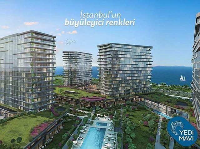 Yedi Mavi'de evinizin her odası, uçsuz bucaksız deniz manzarasına açılıyor.  Bahçenizde çiçek kokuları etrafınızı sararken, günün 24 saati manzaranızın keyfini çıkaracaksınız.  #yedimavi #modern #yaşam #mimari #peyzaj #manzara #hayat #proje #yedimavideyasam #istanbul #turkey #prestij #deniz #sosyalyasam http://turkrazzi.com/ipost/1521044791890526566/?code=BUb1i3sF8Fm