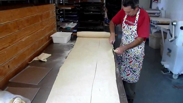 Ricetta Dolci Pasticceria - Come Fare i Cornetti : Video Tutorial