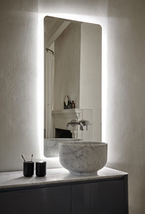 Every element of Origin collection is carried out with total precision, dedication and artistic style. #design #detail #washbasin #marble #Carrara #home #decor #furniture