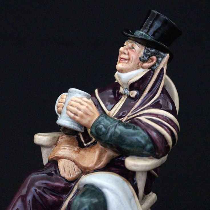 Royal Doulton Character Figure  THE COACHMAN Porcelain Figurine  HN2282 MINT #RoyalDoulton