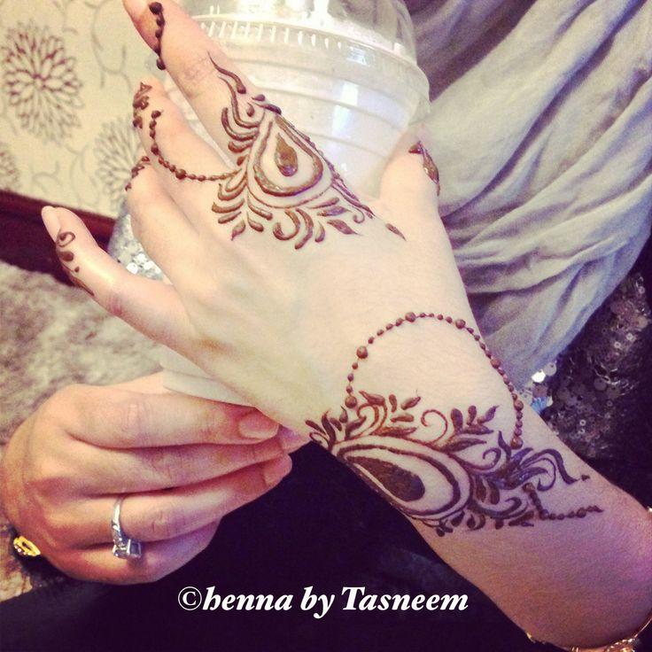 elegant khaleeji henna