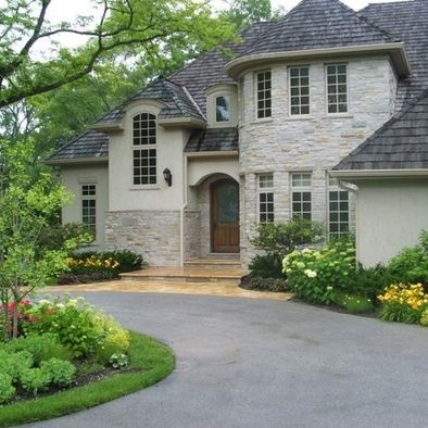 127 Best Driveway And Front Exterior Design Images On Pinterest | Driveway  Ideas, Driveway Landscaping And Driveways