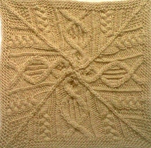 Great American Aran Afghan - Jay Campbell Square