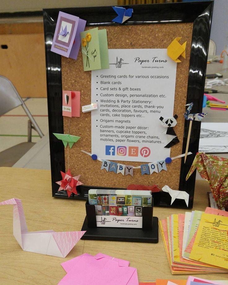 The Paper Turns promo board full of handmade lovelies