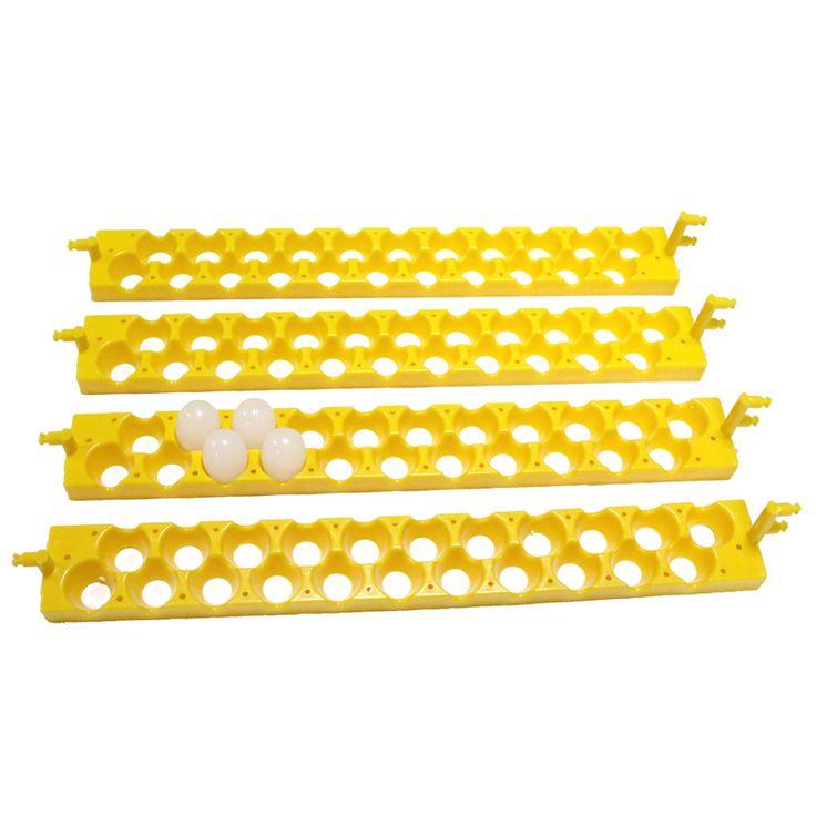 buy 6 pcs 22 holes bird eggs incubation trays automatically turn the eggs quail incubator egg tray #poultry #farming