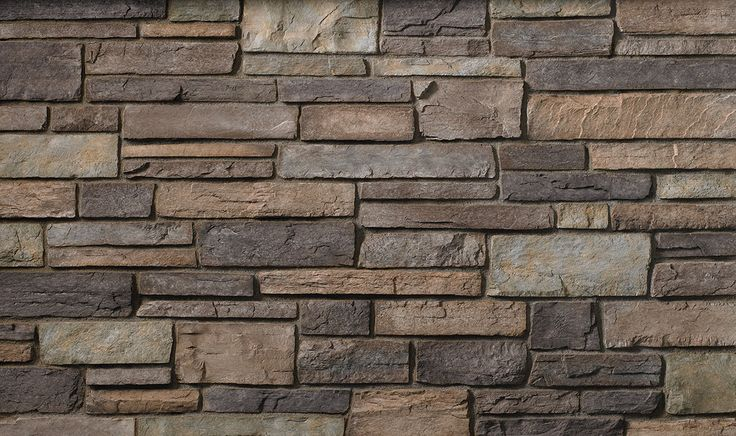 Grand Mesa Country Ledgestone  Cultured Stone by Boral in 2019  Stone exterior houses Stone