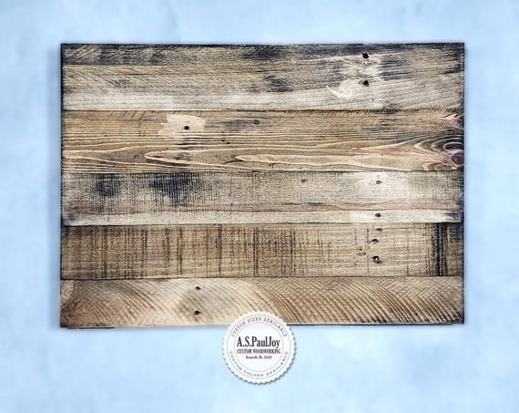 Marvelous Rustic Distressed Blank Pallet Wood Sign Plaque Ready To Download Free Architecture Designs Itiscsunscenecom
