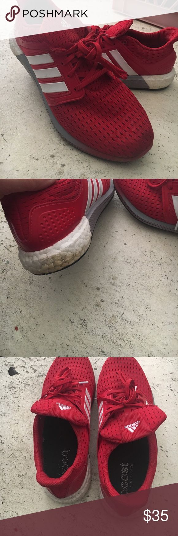 Adidas Boost shoes Adidas cosmic boost shoes. excellent condition. just worn to run errands adidas Shoes Athletic Shoes