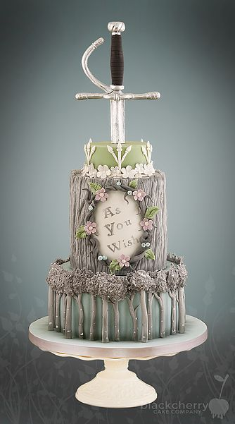 Black Cherry Cake Company - Princess Bride Wedding Cake