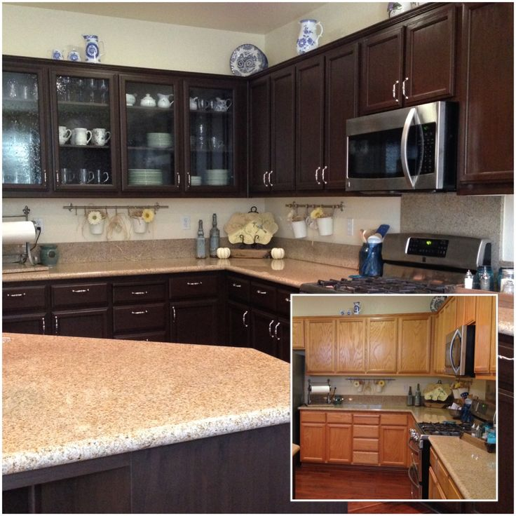 Repainted Kitchen Cabinets: 17 Best Ideas About Repainted Kitchen Cabinets On