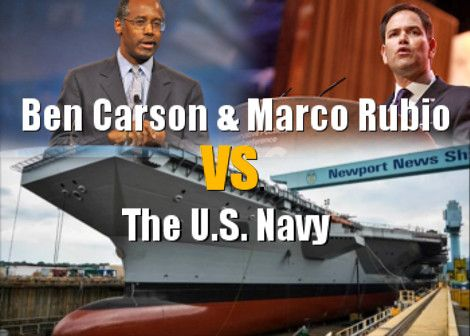 Navy Secretary Ray Mabus Uses Facts To Disprove GOP Lies About The U.S. Navy!  #raymabus #bencarson #marcorubio #usnavy #navy #army #airforce #marines #military #factcheck #thefacts #madmadder