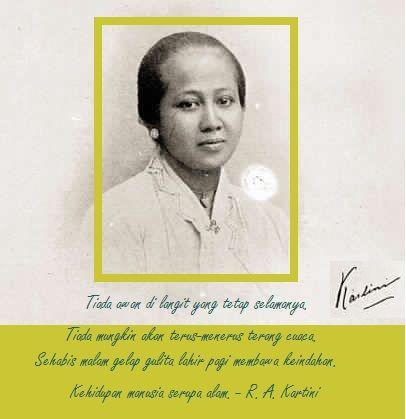TM.Daily: Kutipan Inspirasi dari R.A.Kartini
