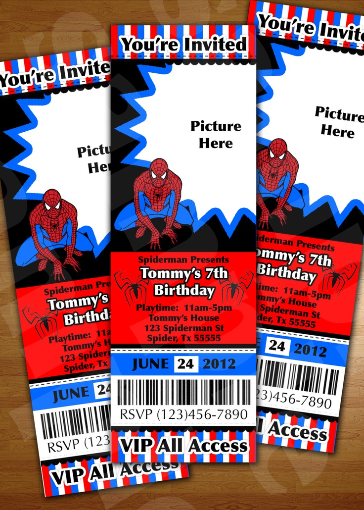 130 best spiderman party images on Pinterest | Birthday ...