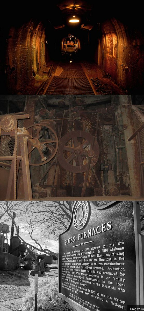 Sloss Furnace between 1882 to 1971 was a very dangerous place to work and now it is haunted by those who lost their lives working there.