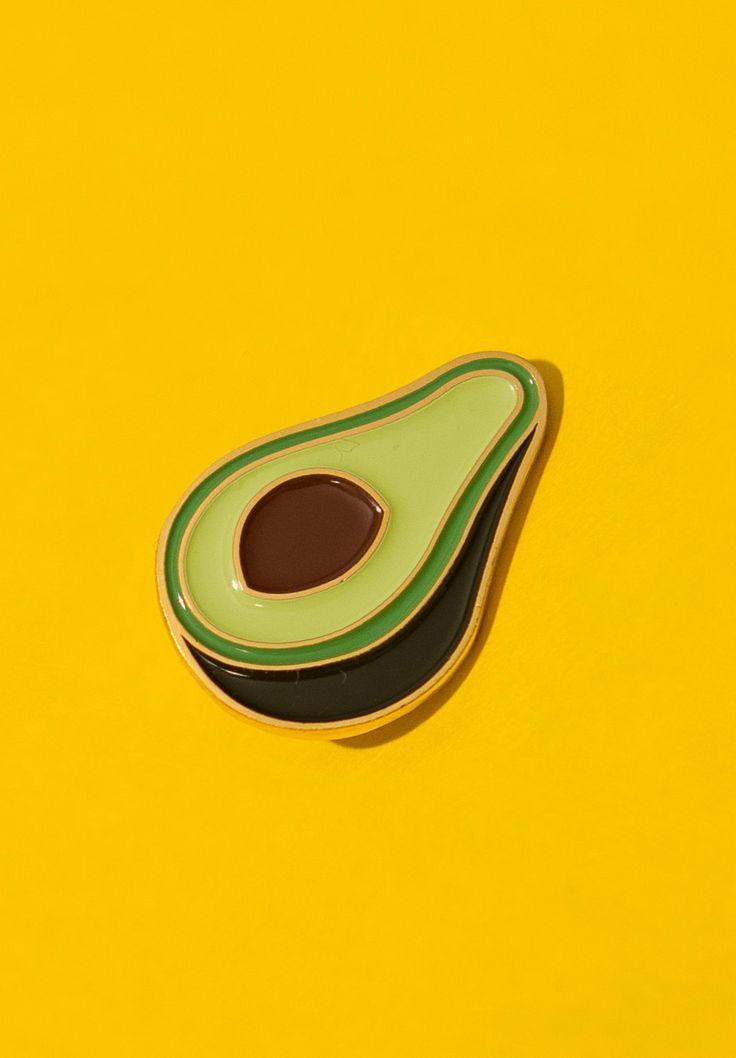 Enamel Baby Avocado Pin - £5.65  https://www.etsy.com/mx/listing/250784090/enamel-baby-avocado-pin
