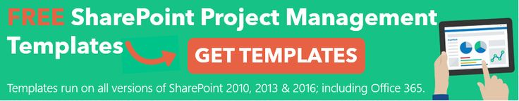 The templates will run on all versions of #SharePoint 2010, 2013, 2016 and #Office365 http://www.brightwork.com/resources/free_sharepoint_project_management_template.asp?event=4