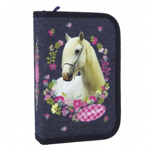 Lovas kihajtható tolltartó - Love Horse - Gyerekajándék