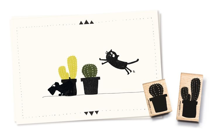 New cactus stamps!