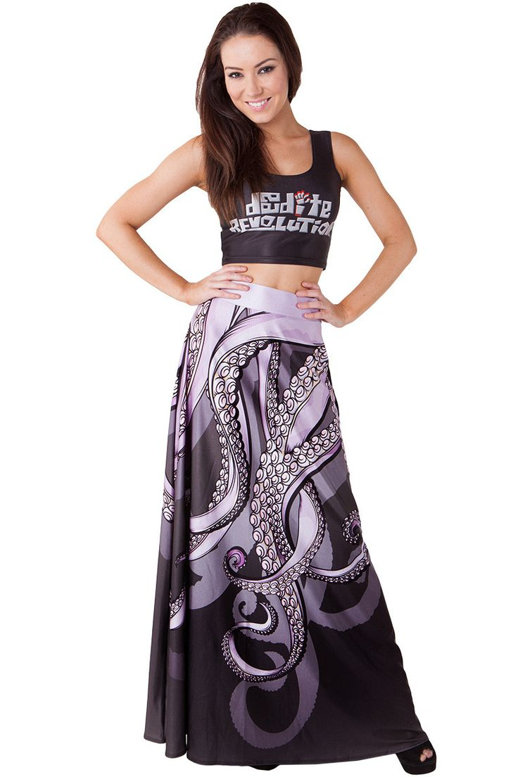 Sea Witch Maxi Skirt - $90.00 AUD