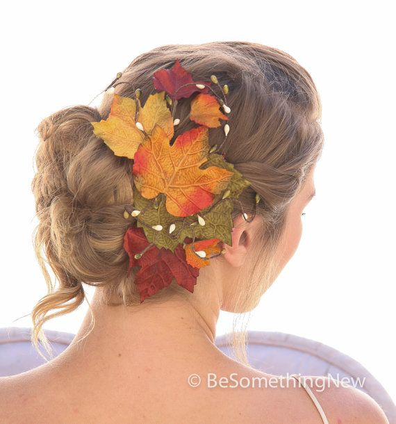 Hey, I found this really awesome Etsy listing at https://www.etsy.com/listing/203040059/big-fall-leaves-hair-comb-fall-wedding