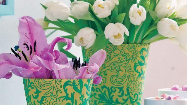 Máte doma staré kvetináče? Oblečte ich do nového šatu | Casprezeny.sk