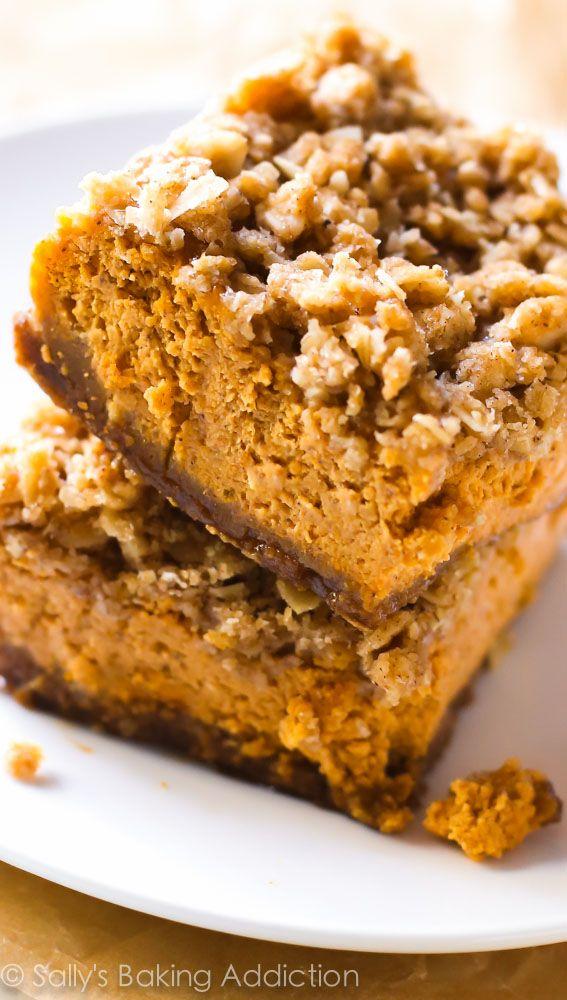 ... more 127 9 bourbon pumpkin tart with walnut streusel tasteofhome com