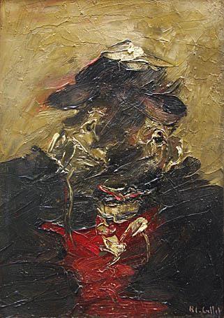 PETIT PORTRAIT - Roger-Edgar GILLET - Galerie Guigon