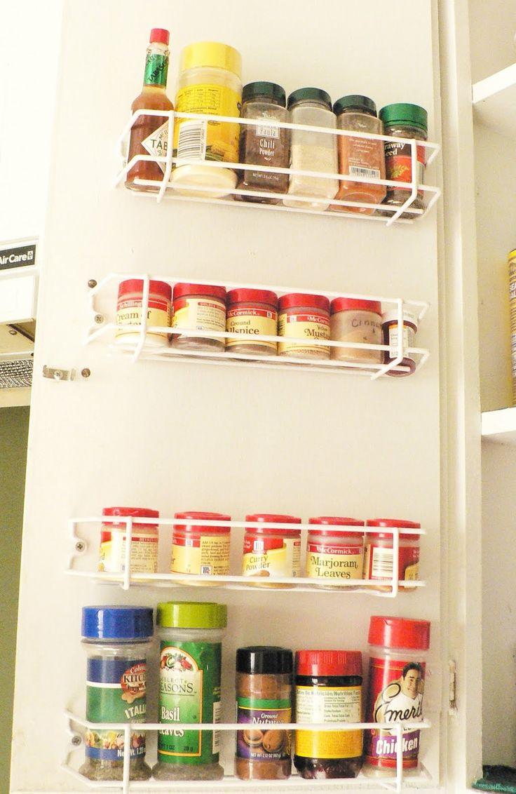Tolle Gewürzregale Für Küchenschränke Galerie - Die ...