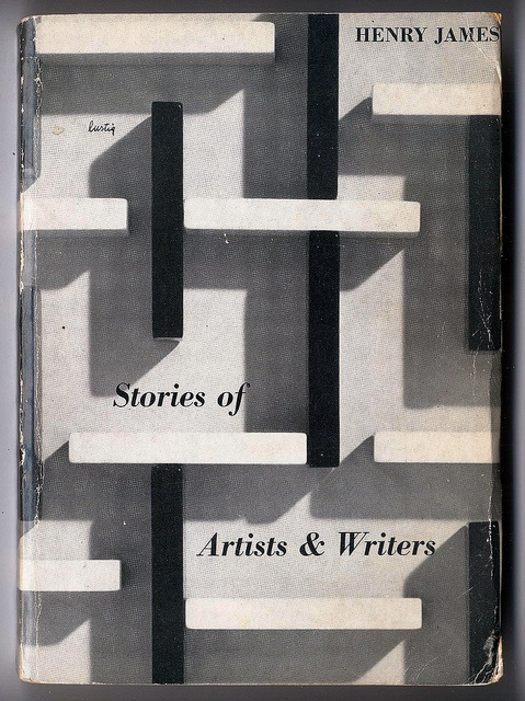 Henry James | Stories of Artists and Writers. Alvin Lustig cover