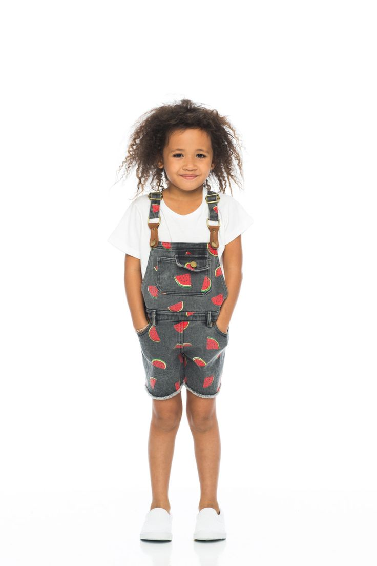 Girls Washed Vintage Overall by TheStoryOfClothing on Etsy