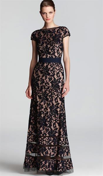 Вечернее кружевное платье фото