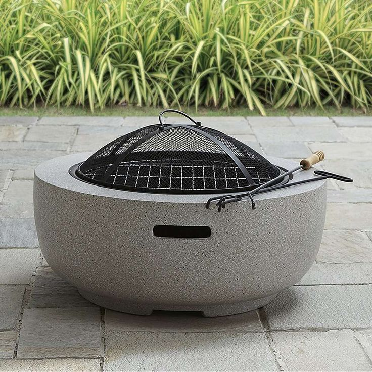 Best 25 Round Fire Pit Ideas On Pinterest Large Fire