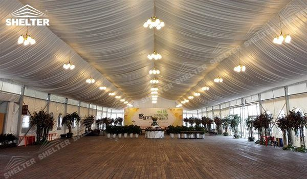 SHELTER Mixed Party Tent for Party/ Events