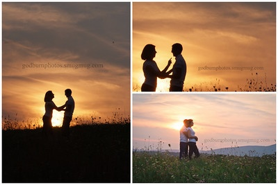sunset engagement session, Wallkill, NY