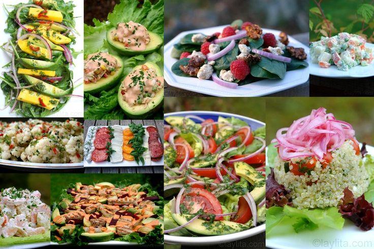 Summer salad recipes | Laylita's recipes
