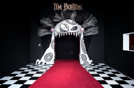 Tim Burton Exhibition at MoMA. I wanted to go so badly. I LOVE Tim Burton. He's just a genius!