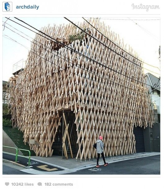 Sunny Hills by Kengo Kuma via @ArchDaily on Instagram