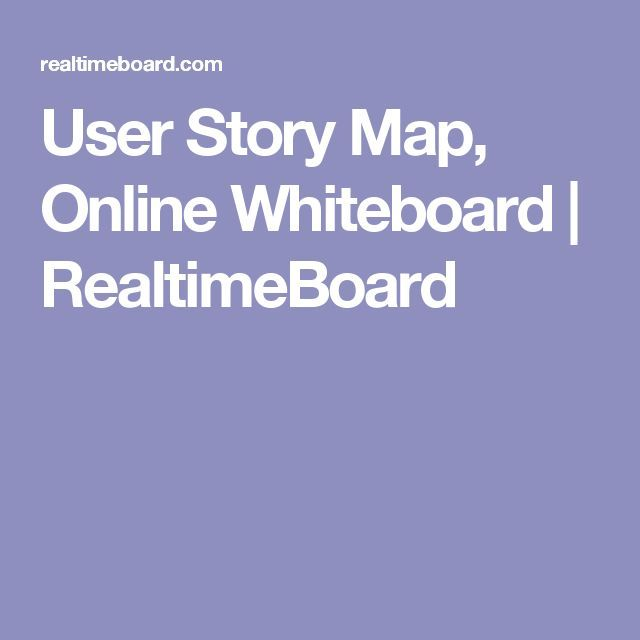 Best User Story Mapping Images On   Story Maps User