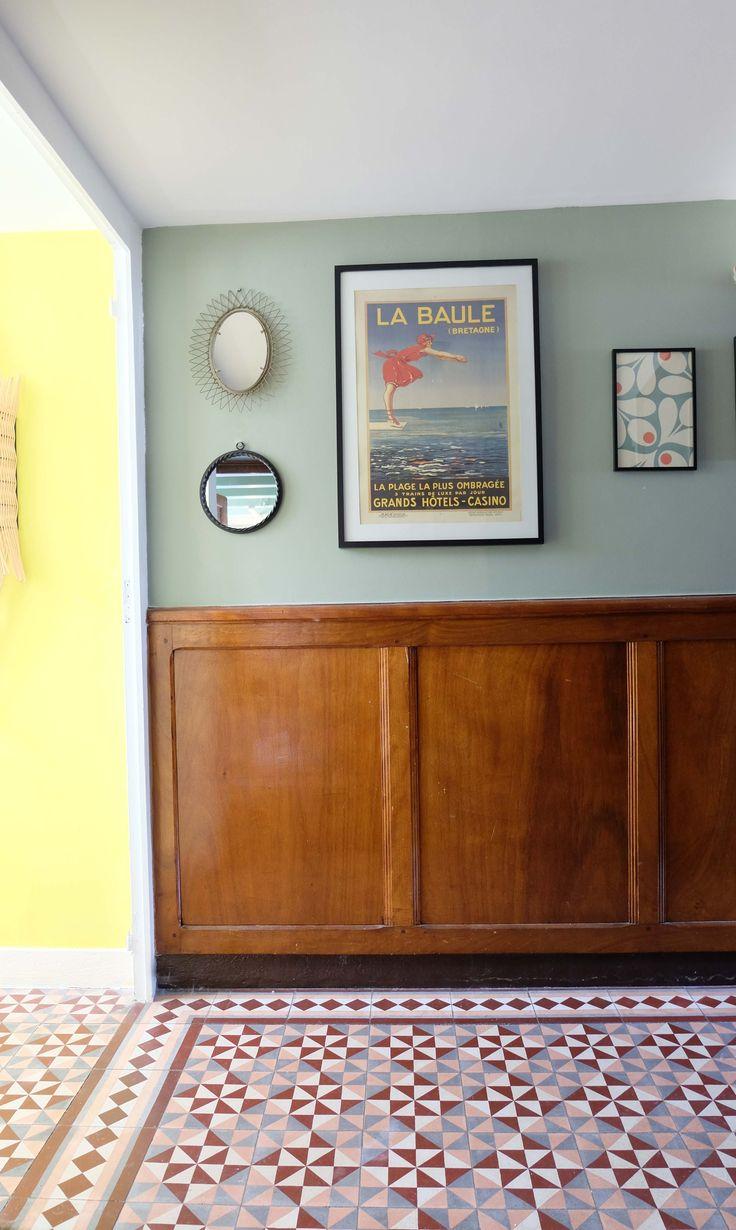 les 378 meilleures images du tableau entr e et couloir sur pinterest d co maison id es pour. Black Bedroom Furniture Sets. Home Design Ideas
