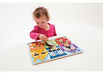 Melissa & Doug Latches Board - Chalk Catalogue, $44.90 plus postage from chalk.com.au #occupationaltherapy #motorskills