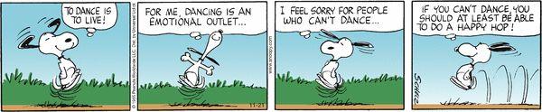 Peanuts Comic Strip, November 21, 2012 on GoComics.com