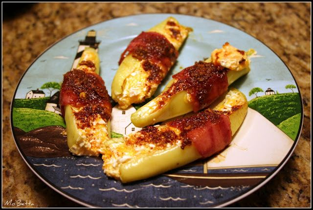 Makin' it Mo' Betta: Hot Banana Pepper Poppers