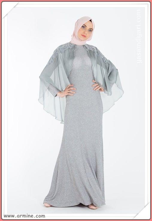 b02f5471a7ef8 Yeni sezonun en güzel tesettür abiye elbise modelleri bu sezonda sizleri  Armine de bekliyor. Armine 2019 tesettürlü abiye elbise modelleri  tükenmeden sizde ...