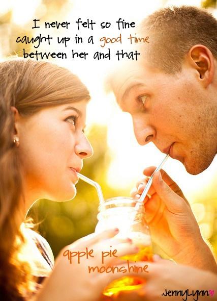 Jake Owen - Apple Pie Moonshine  made by me :) JennyLynn<3